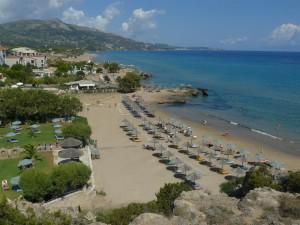 Pláž ve Vassilikos /