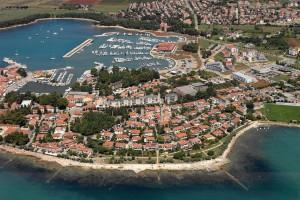 Novigrad v chorvatské Istrii /