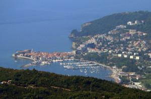 Budva je největším černohorským letoviskem /